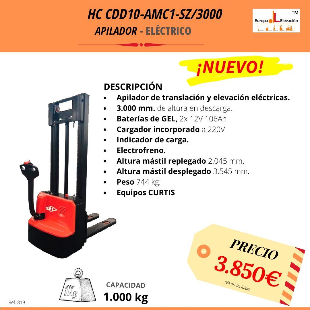 HC CDD10 apilador eléctrico