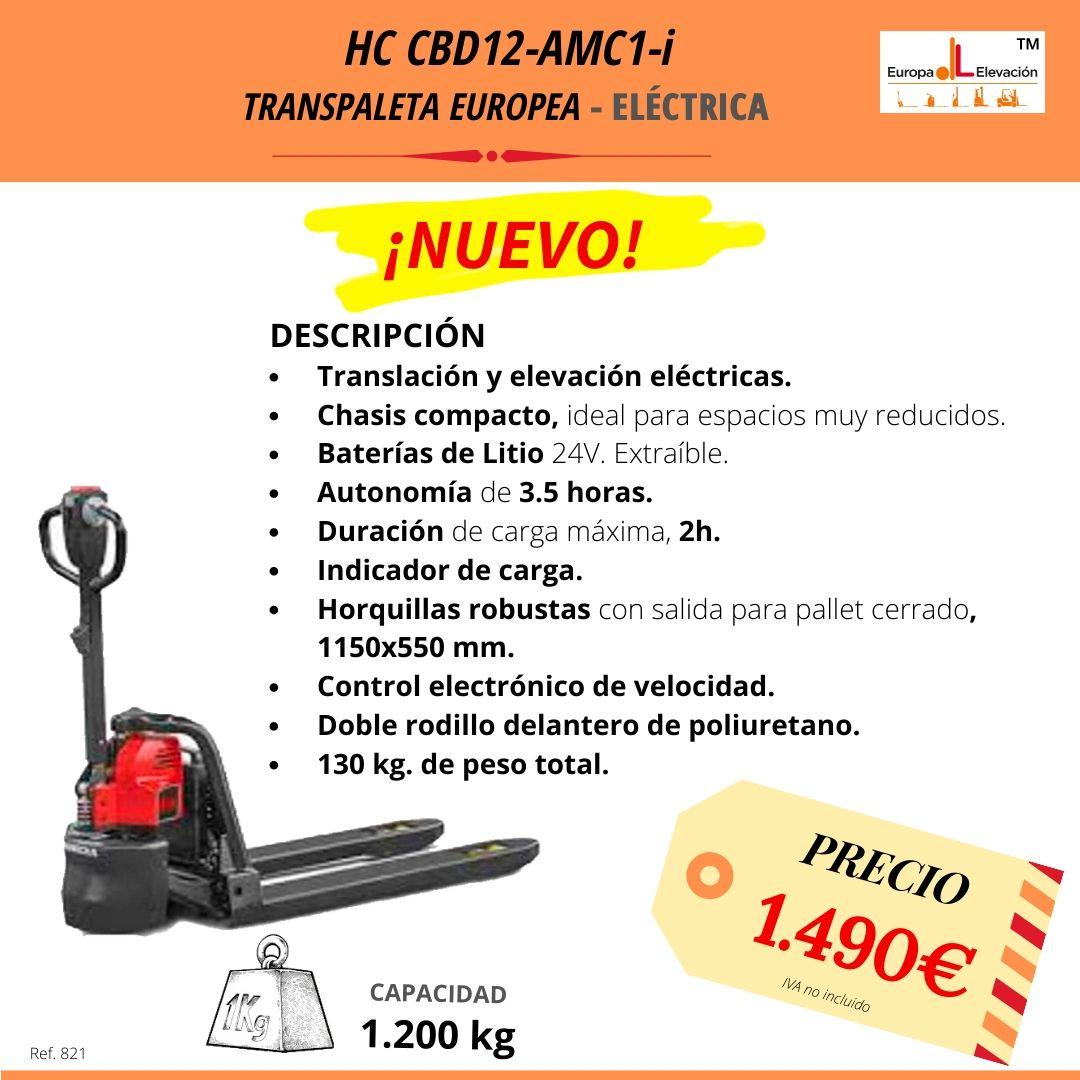 HC CBD!-AMC1-i transpaleta europea eléctrica