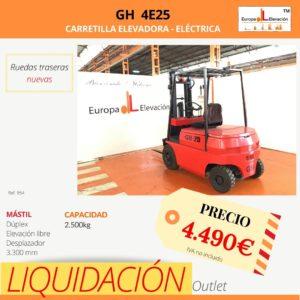 954 GH carretilla eléctrica Europa Elevación