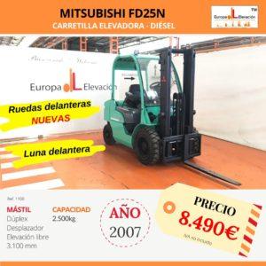 1100 Mitsubishi FD25N