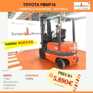 1204 Toyota FBM16