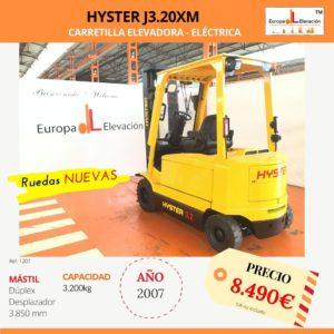 1207 Hyster J3.20M car. elev. eléctrica