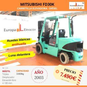 1210 Mitsubishi FD30K