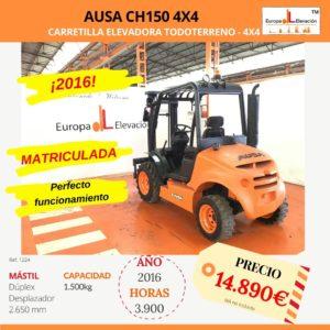 1224 Ausa ch1500 Europa Elevación