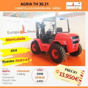 1226 Agria th 30.21 Europa Elevación