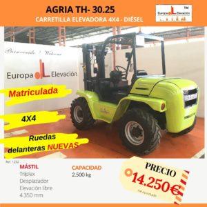 1232 Agria TH 30.25 Europa Elevación (1)