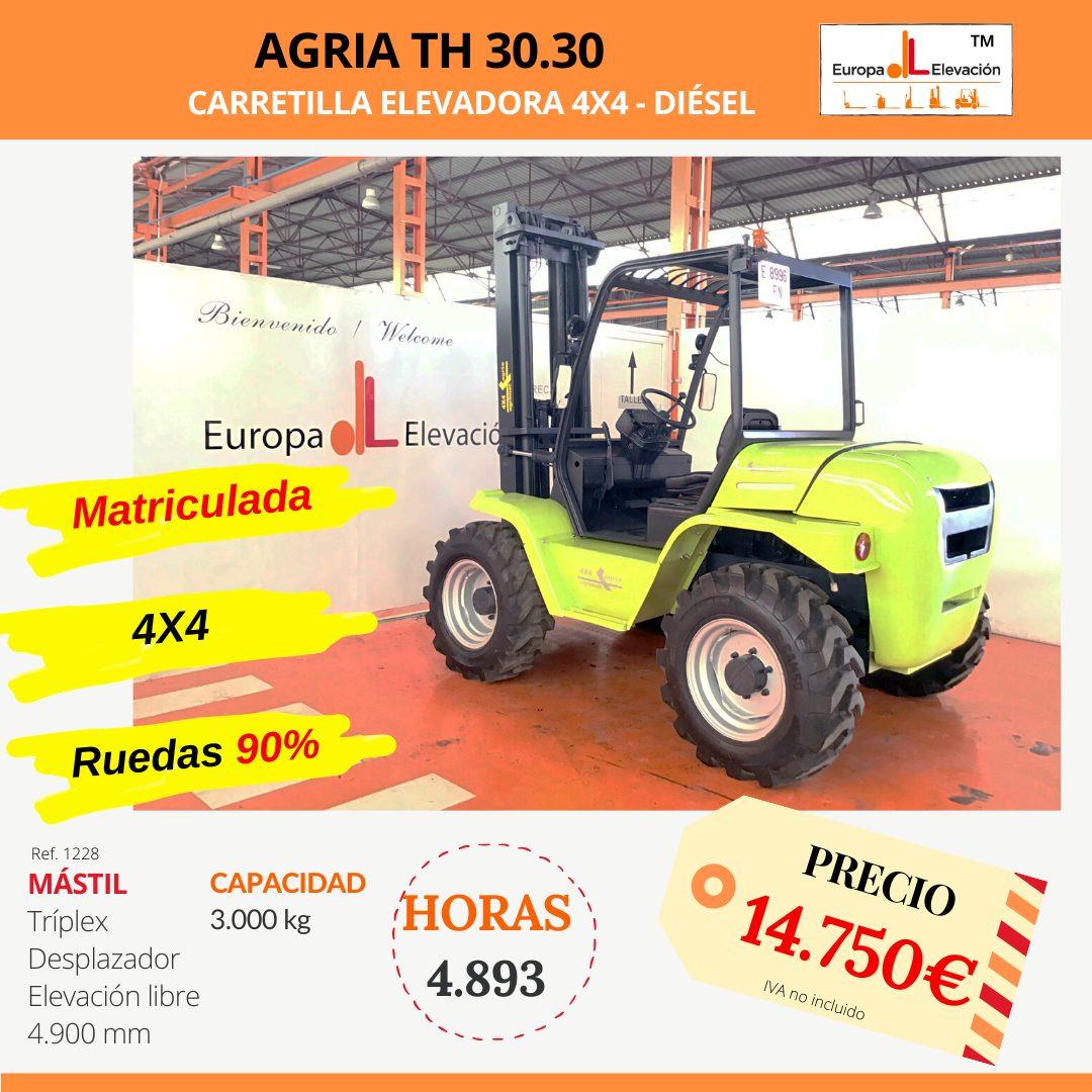 1232 Agria th 30.21 Europa Elevación