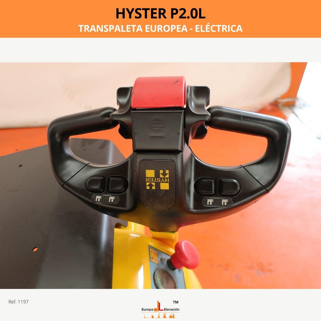 1197 Hyster P2.0 L transpaleta europea Europa Elevación