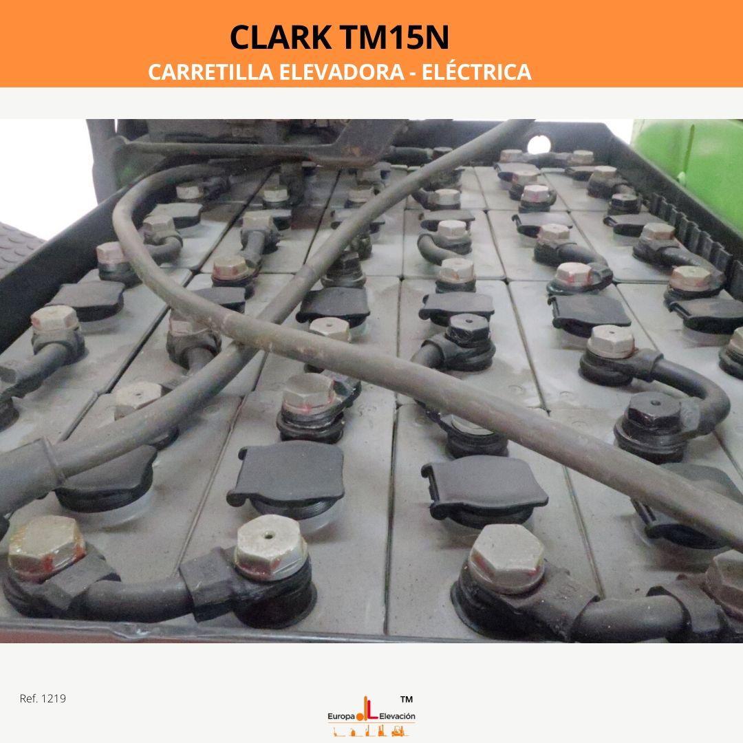 1219 Clark TM15N carretilla elevadora eléctrica Europa Elevación