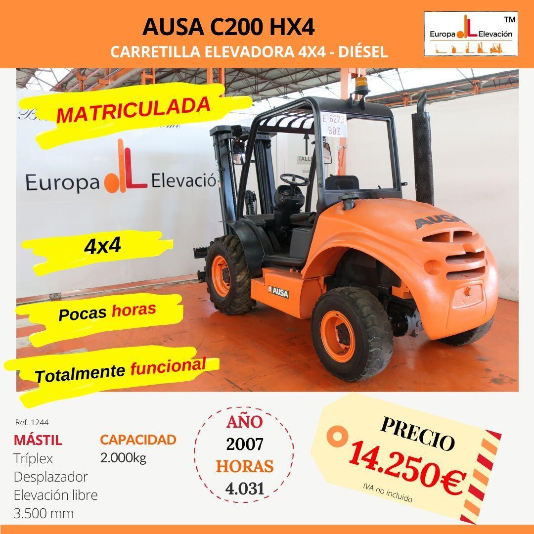1244 Ausa c200 HX4