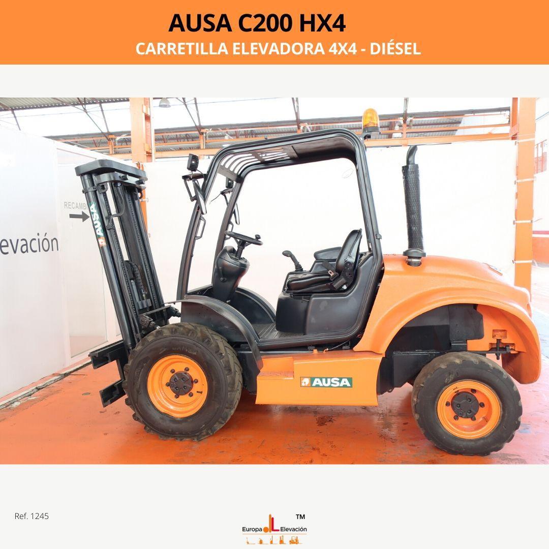 1245 Asua c200 hx4 Europa Elevación